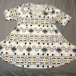 Aztec print Lularoe Perfect T